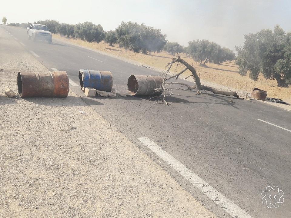 بسبب كثرة الحوادث : غلق الطريق الرابطة بين صفاقس والقيروان