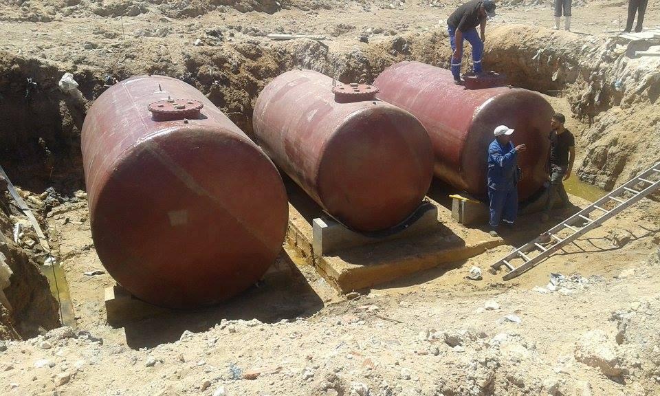 إنطلاق أشغال بناء محطة التزود بالوقود بالمستودع البلدي بصفاقس