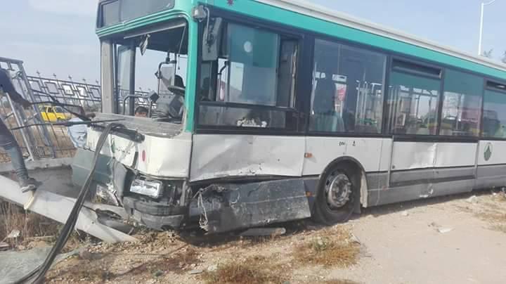 صفاقس - حادث مرور - حافلة