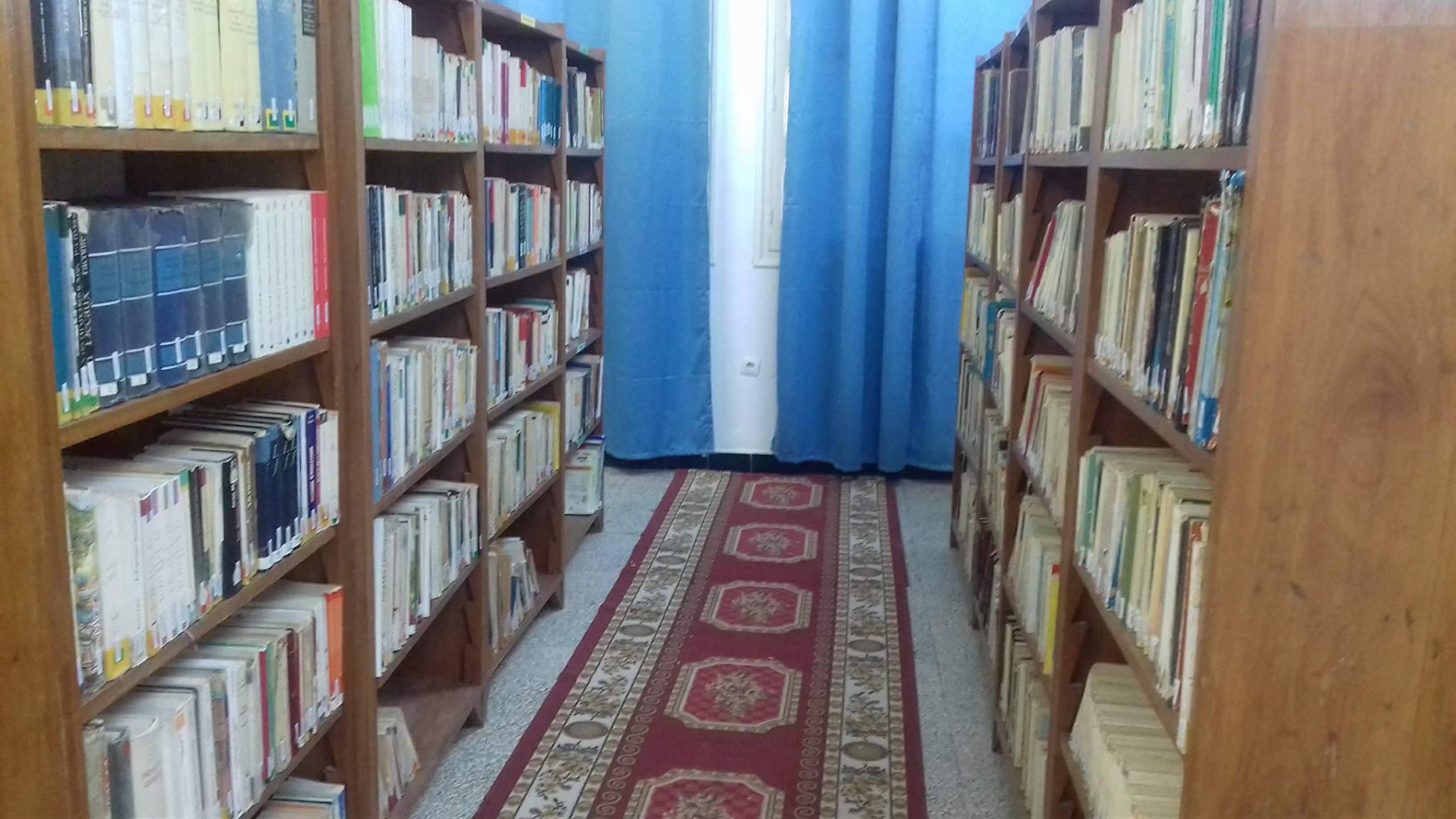 تركيز مكتبة بالقاعدة العسكرية البحرية بصفاقس