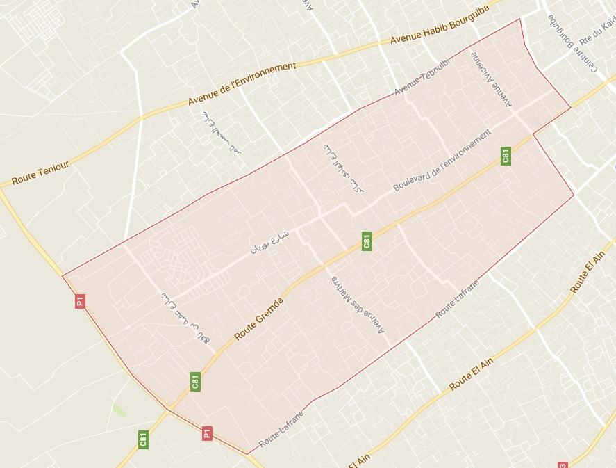 بلدية قرمدة - بوزيان - الطبلبي