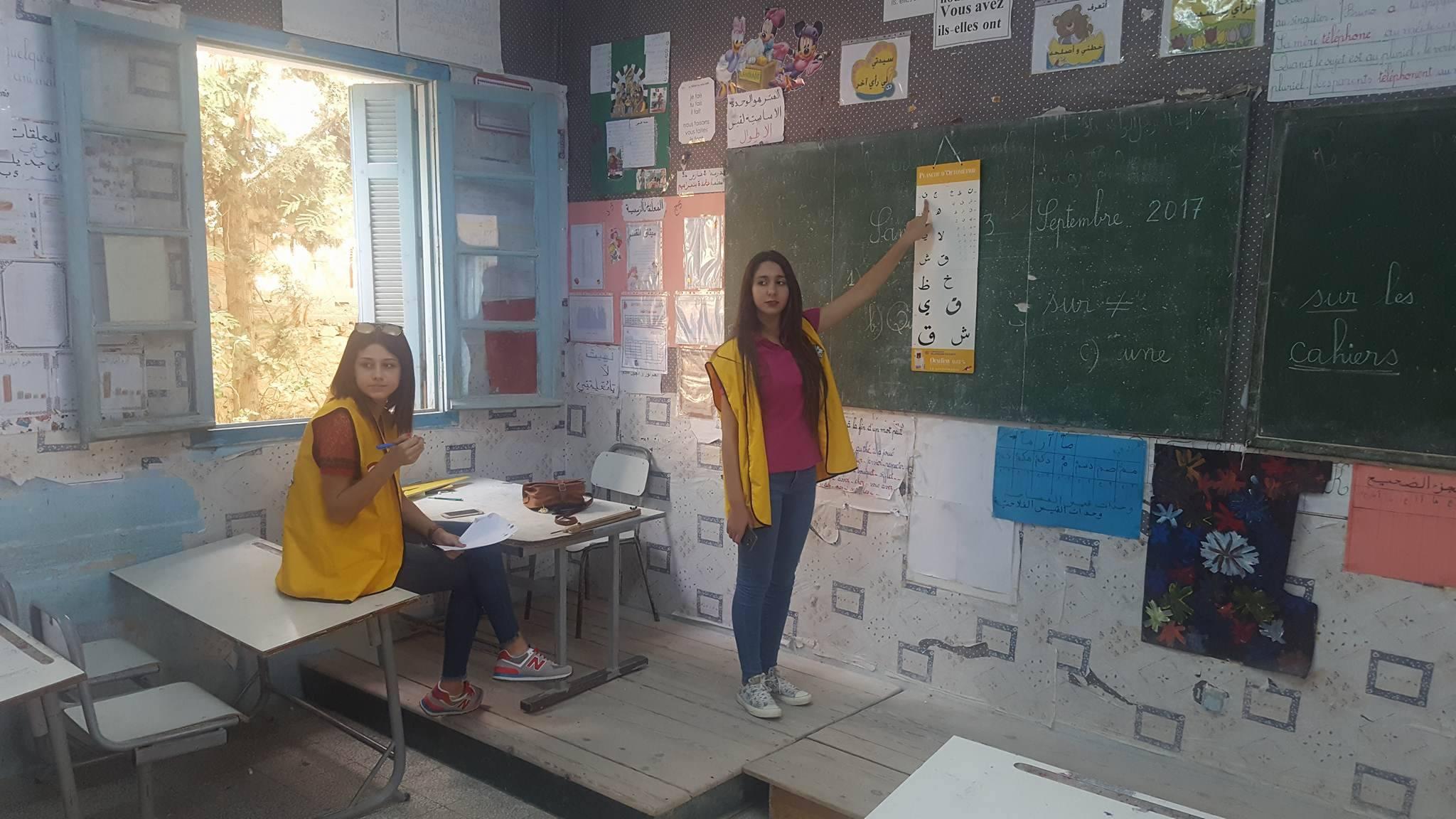 نادي ليو صفاقس المتوسطي يُنظم قافلة صحية بمدرسة في عقارب