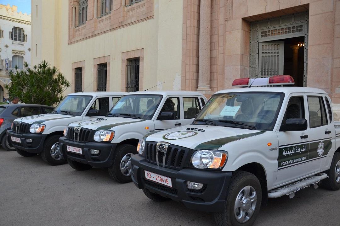 شاحنات الشرطة البيئية - بلدية صفاقس