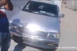 صفاقس : إسترجاع شاحنة والقبض على منحرف خطير