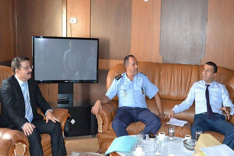 بلدية صفاقس : جلسة عمل مع الحماية المدنية حول الاستعداد لموسم الامطار