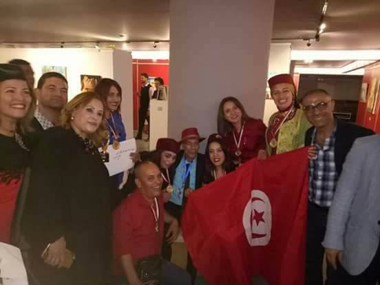 اختتام ملتقي ''ابداع'' الدولي بالقاهرة بمشاركة الوفد التونسي برئاسة الفنان محمد علي الدرويش