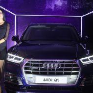 طرح سيارة اودي Q5 في الأسواق التونسية خلال افتتاح قاعة العرض الجديدة لشركة أودي في صفاقس