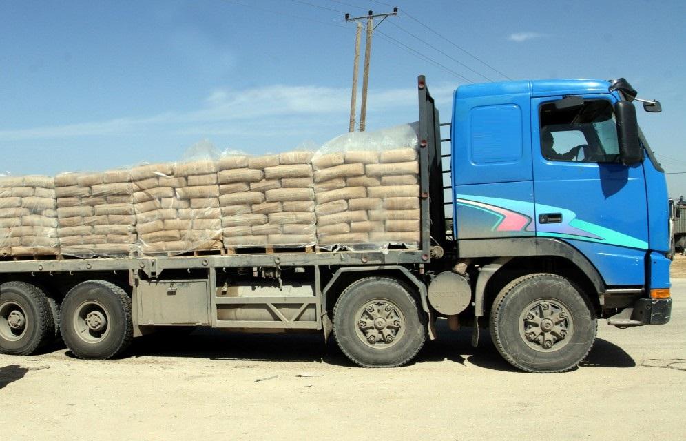 شاحنة الاسمنت