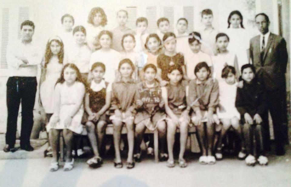 صورة قديمة لاحد أقسام مدرسة نهج العدول (الصورة من صفحة قدماء المدرسة)