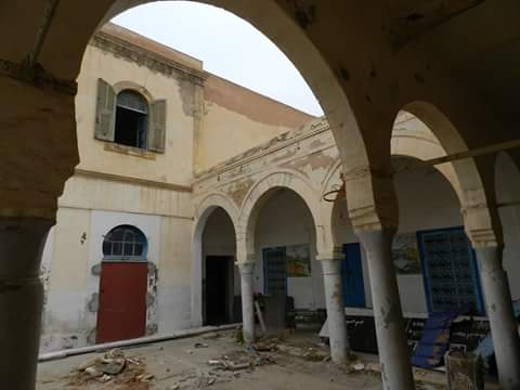 ساحة المدرسة الحسينية