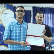 """الطالب """"مجد البرادعي"""" صاحب أفضل مشروع تخرج - المدرسة العليا الخاصة للتكنولوجيا بصفاقس"""