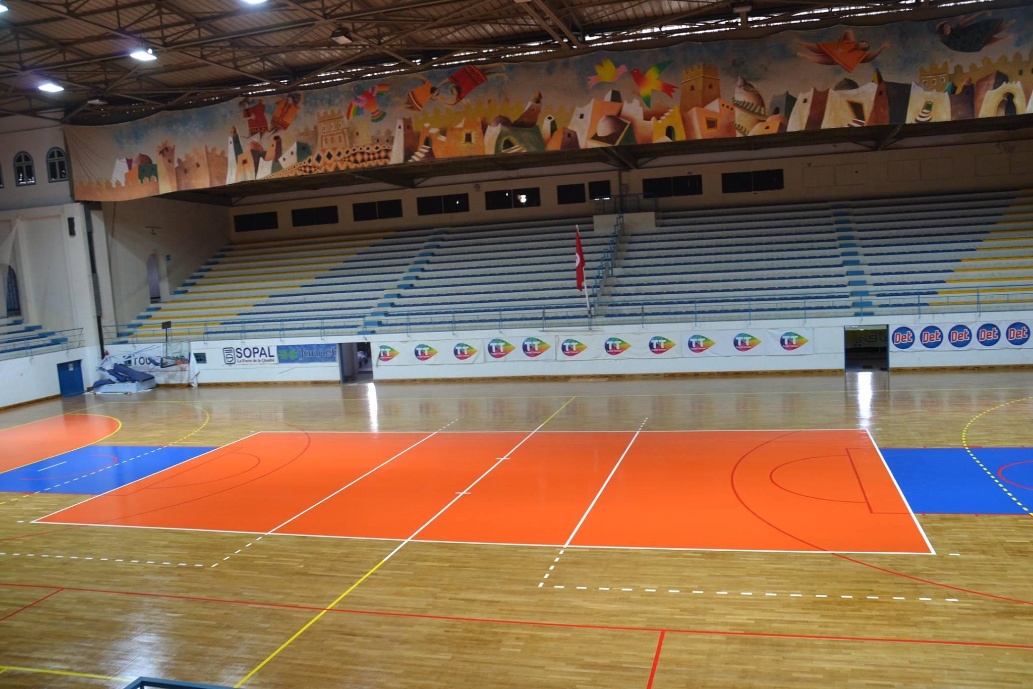 صفاقس - القاعة الرياضية الرائد البجاوي