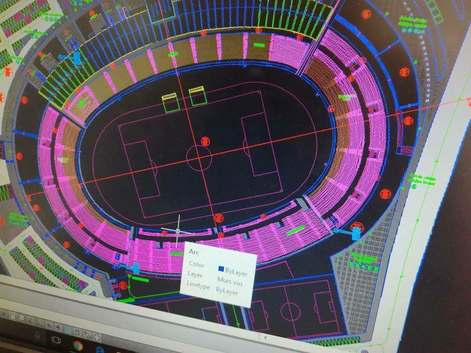 توسعة الملعب الأولمبي بسوسة