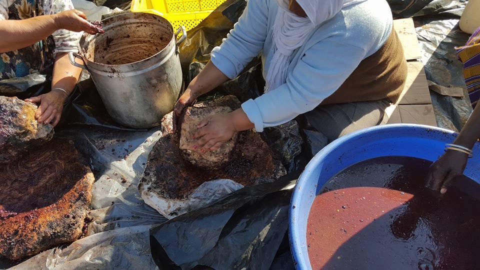 طريقة إستخراج الزيت الزيتونة التقليدية بصفاقس