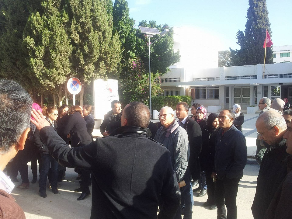 ايقاف العمل بجل المؤسسات الجامعية التابعة لجامعة صفاقس صباح اليوم