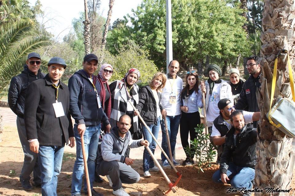 جمعية اللمة الصفاقسية تحتفل بالعيد الوطني للشجرة