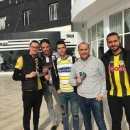 جمهور النادي البنزرتي يساند جمهور النادي الصفاقسي في دفع الخطية المالية