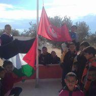 نصرة للقدس: العلمان التونسي والفلسطيني في مدرسة أولاد حمودة قرقور