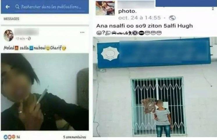 صفاقس : القبض على فتاة الـ17 سنة إثر قيامها بإشارة غير أخلاقية أمام مركز أمن بسوق الزيتون