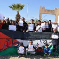 """صفاقس : مسيرة سلمية في عقارب نصرة للقدس تحت شعار """"اغضب للقدس ..جرّم التطبيع"""""""