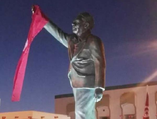 """صفاقس : تدشين مجسم الزعيم الراحل المناضل النقابي """"فرحات حشاد"""""""