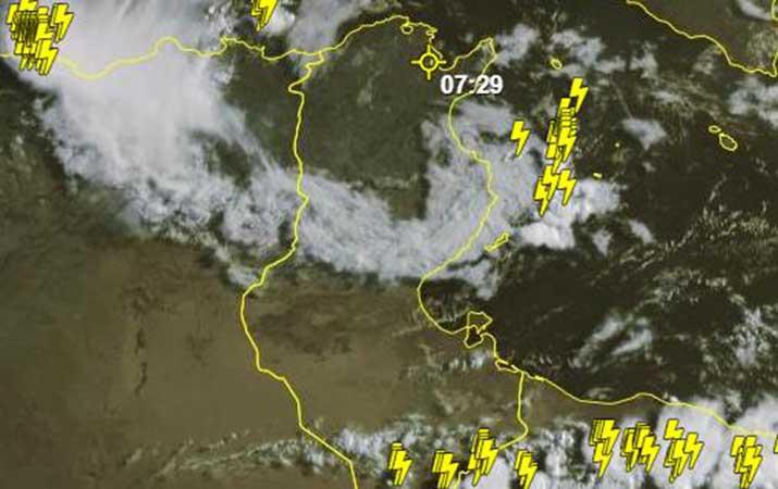المعهد الوطني للرصد الجوي تونس مازالت معنية بالتقلبات الجوية