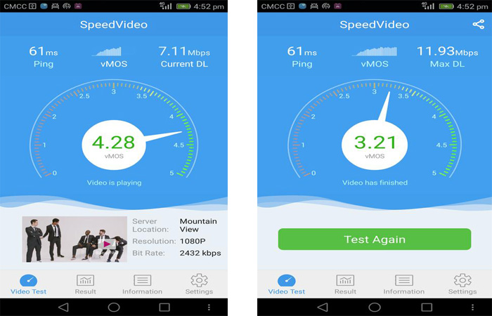 SpeedVideo, l'appli pour tester son streaming vidéo