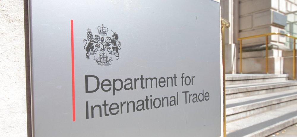 Le département du commerce international (DIT) britannique