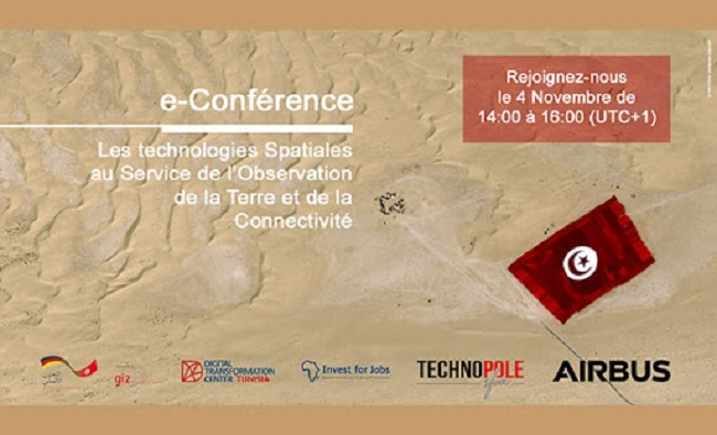 Airbus: E-conférence à Sfax sur les technologies spatiales au service de l'Observation de la Terre et de la Connectivité
