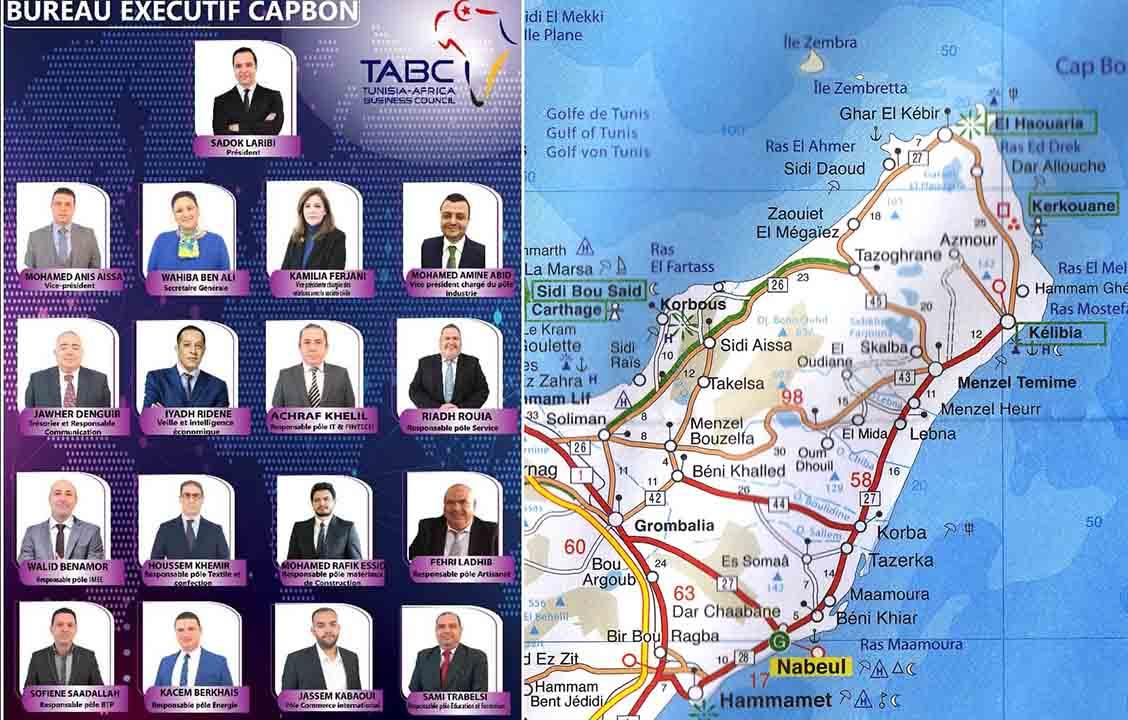 Le Tunisia-Africa Business Council annonce la composition de son nouveau bureau exécutif TABC Cap-Bon