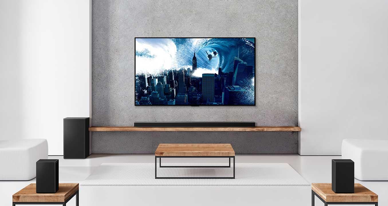 LG lance la gamme de barres de son 2021