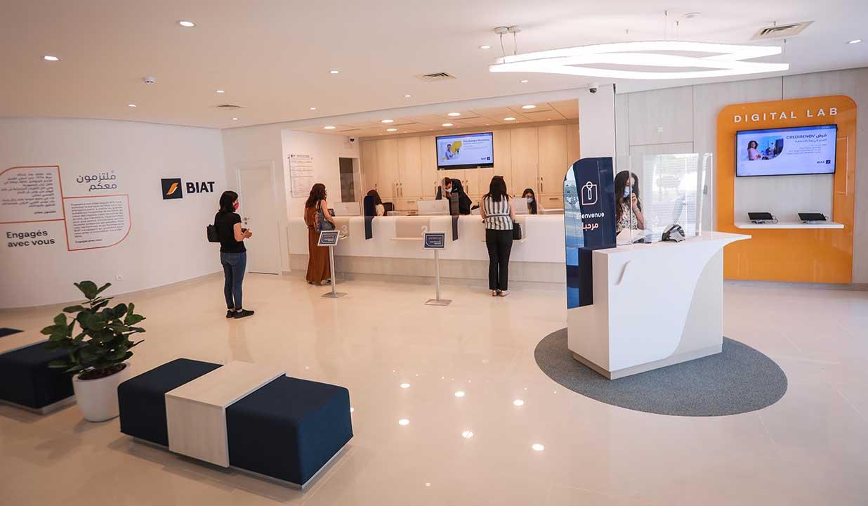 La BIAT lance sa nouvelle génération d'agences bancaires