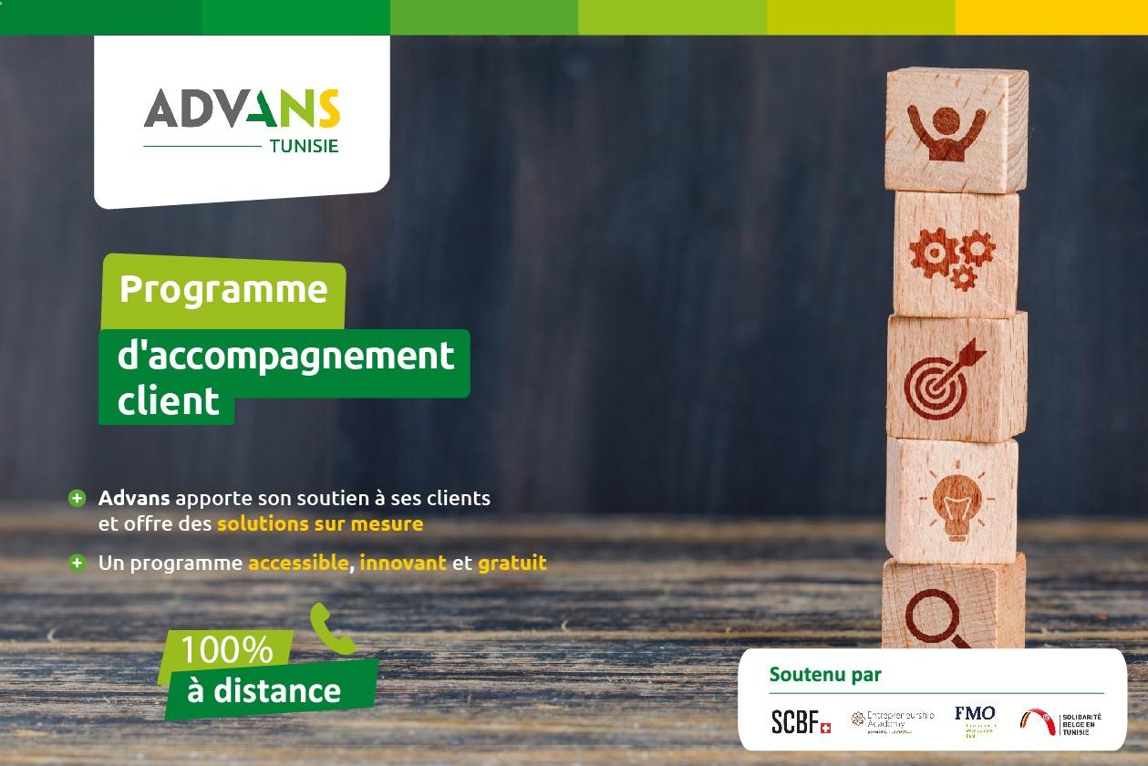 Advans Tunisie finalise le programme d'accompagnement « 3 x 100% » destiné à 1 000 micro-entrepreneurs avec un impact très positif sur leurs activités
