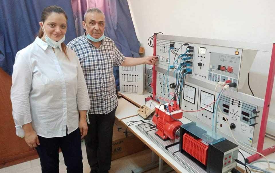 Création Centre de conversion d'énergie éolienne à l'ENIS dans le cadre du projet Européen WESET Mohamed Chaabane